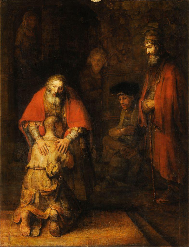 Ritorno del figliol prodigo Rembrant